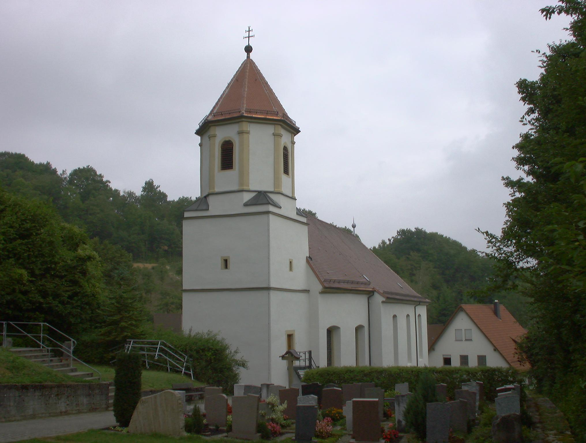 Katholische Kirche in Westernhausen Außensanierung
