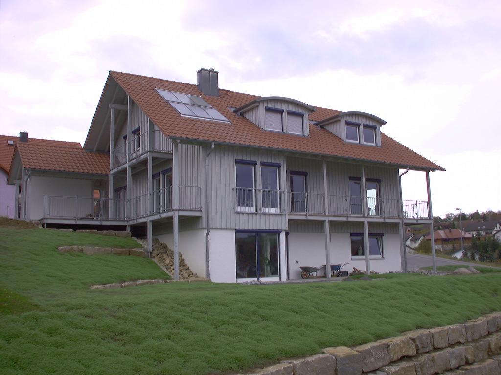 Energiesparsames Wohnhaus in Holzbauweise
